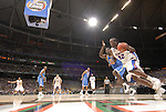 31 MAR 2007:  Chris Richard (32) of Florida drives toward the basket in front of Darren Collison (2) of UCLA during the University of California - Los Angeles vs University of Florida national semifinal game at the NCAA Men's Division I Basketball Final Four held at the Georgia Dome in Atlanta, GA. Rich Clarkson/NCAA Photos