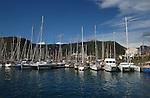 San Sebastian harbour in the Canarian island of La Gomera, Canary Islands.