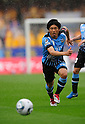 Takanobu Komiyama (Frontale), APRIL 23, 2011 - Football : 2011 J.LEAGUE Division 1 between Kawasaki Frontale 1-2  Vegalta Sendai at Kawasaki Todoroki Stadium, Kanagawa, Japan. (Photo by Atsushi Tomura /AFLO SPORT) [1035]