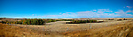 Prairie landscape southern Saskatchewan Canada panorama