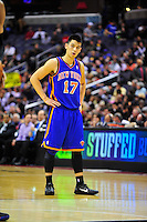 Jeremy Lin of the New York Knicks.  Alan P. Santos/DC Sports Box