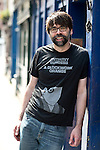 May0070715 . Daily Telegraph<br /> <br /> Features<br /> <br /> Portrait of Joe Hill, novelist and son of Stephen King<br /> <br /> <br /> London 7 June 2016