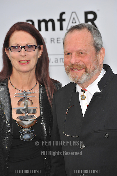 Terry Gilliam at amfAR's Cinema Against AIDS Gala at the Hotel du Cap d'Antibes..May 21, 2009  Antibes, France.Picture: Paul Smith / Featureflash