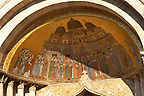 Translation Of The Body Of St Mark Mosaic into Saint Marks  Basilica - Venice
