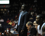 Ole Miss assistant coach Al Pinkins vs. SMU at the C.M. &quot;Tad&quot; Smith Coliseum in Oxford, Miss. on Tuesday, January 3, 2012. Ole Miss won 50-48.