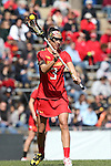 27 February 2016: Maryland's Kacie Longo. The University of North Carolina Tar Heels hosted the University of Maryland Terrapins in a 2016 NCAA Division I Women's Lacrosse match. Maryland won the game 8-7.