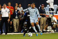 Teal Bunbury Sporting KC midfielder in action... Sporting KC defeated San Jose Earthquakes 1-0 at LIVESTRONG Sporting Park, Kansas City, Kansas.