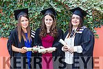 Higher Certificate Office Inforfation Systems, Jordanna O'Sullivan, Kayleigh O'Connor, Monica Prieto at the Institute of Technology Tralee Autumn Conferring of Awards Ceremony at the Brandon Hotel on Friday