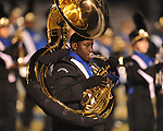The Oxford High band performs during halftime of the Oxford vs. Hernando high school football action in Oxford, Miss. on Friday, October 15, 2010. Oxford won 31-19.