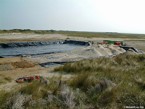 Bodemsanering en grondwatersanering - Vlieland - 'Heap of Junk' (schietrange Vliehors)
