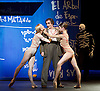 English National Ballet <br /> Triple Bill at Sadler's Wells, London, Great Britain <br /> 12th April 2016 <br /> world premier rehearsal <br /> <br /> <br /> Broken Wings<br /> choreography by Annabelle Lopez Ochoa<br /> <br /> <br /> Irek Mukhamedov<br /> as Diego Rivera<br /> <br /> <br /> <br /> Photograph by Elliott Franks <br /> Image licensed to Elliott Franks Photography Services