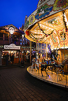 Merry-go-round In Cologne Christmas Market, Germany