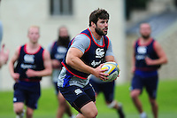 Guy Mercer of Bath Rugby in action. Bath Rugby pre-season skills training on June 21, 2016 at Farleigh House in Bath, England. Photo by: Patrick Khachfe / Onside Images