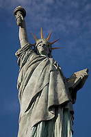 Statue of Liberty, River Seine, Paris, France, Europe