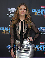 """HOLLYWOOD, CA - April 19: Allison Holker, At Premiere Of Disney And Marvel's """"Guardians Of The Galaxy Vol. 2"""" At The Dolby Theatre  In California on April 19, 2017. Credit: FS/MediaPunch"""