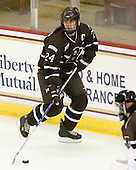 Samantha Stortini (Brown - 24) - The Boston College Eagles defeated the visiting Brown University Bears 5-2 on Sunday, October 24, 2010, at Conte Forum in Chestnut Hill, Massachusetts.