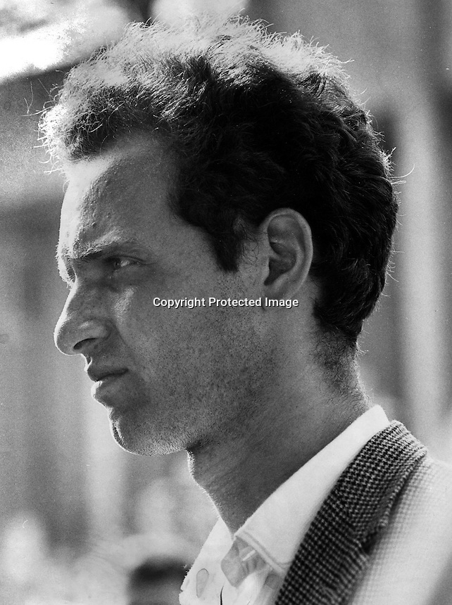 Free speech leader Mario Savio at U.C. Berkeley 1964.(photo by Ron Riesterer/Oakland Tribune)