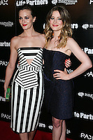 HOLLYWOOD, LOS ANGELES, CA, USA - NOVEMBER 18: Leighton Meester, Gillian Jacobs arrives at the Los Angeles Special Screening Of Magnolia Pictures' 'Life Partners' held at Arclight Hollywood on November 18, 2014 in Hollywood, Los Angeles, California, United States. (Photo by Xavier Collin/Celebrity Monitor)