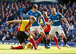 Emerson Hyndman and Kenny Miller with Partick's Niall Keown