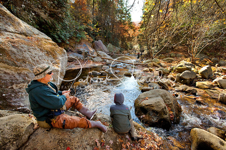 Fly fishing in the north carolina mountains patrick for Fly fishing south carolina