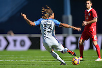 San Diego, CA - Sunday January 29, 2017: Jermaine Jones during an international friendly between the men's national teams of the United States (USA) and Serbia (SRB) at Qualcomm Stadium.
