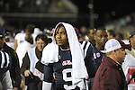 Ole Miss quarterback Maikhail Miller (9) vs. Texas A&amp;M at Vaught-Hemingway Stadium in Oxford, Miss. on Saturday, October 6, 2012. Texas A&amp;M rallied from a 27-17 4th quarter deficit to win 30-27.