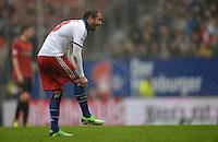 FUSSBALL   1. BUNDESLIGA   SAISON 2012/2013    34. SPIELTAG Hamburger SV - Bayer 04 Leverkusen                      18.05.2013 Rafael van der Vaart (Hamburger SV)  ist enttaeuscht