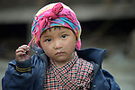 Sophiya Tamang, 4, lives in the village of Goljung, in the Rasuwa District of Nepal near the country's border with Tibet.<br /> <br /> <br /> Parental consent obtained.