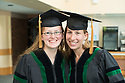 Katherine McBride, left, Danielle Scribner. Class of 2012 commencement.