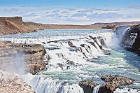 Gulfoss waterfall in Iceland