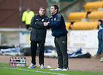 St Johnstone v Dundee.....02.01.13      SPL.Under pressure Dundee boss Barry Smith.Picture by Graeme Hart..Copyright Perthshire Picture Agency.Tel: 01738 623350  Mobile: 07990 594431