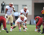 Lafayette High's Mario Toles (53) vs. Laurel in the MHSAA Class 4A championship game at Mississippi Veterans Memorial Stadium in Jackson, Miss. on Saturday, December 3, 2011. Lafayette won 39-29, the team's 32 straight win, to capture their second consecutive state championship.