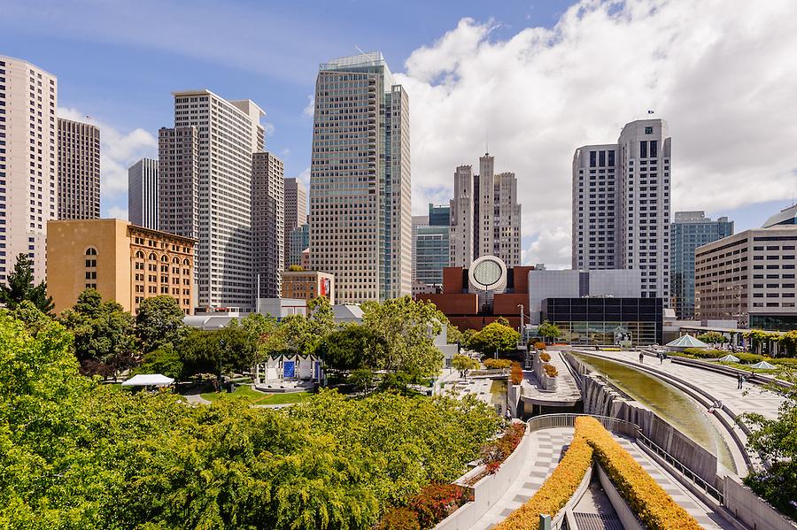 San Francisco California Yerba Buena Gardens Jake Rajs