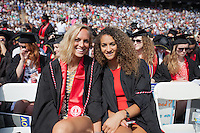 Stanford, CA - Sunday, June 14, 2015: Stanford's 124th Commencement ceremony at Stanford Stadium.
