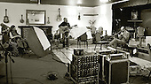 """""""Edge of Chaos Orchestra"""" recording at the Blue Coconut Club, Pulborough, West Sussex."""