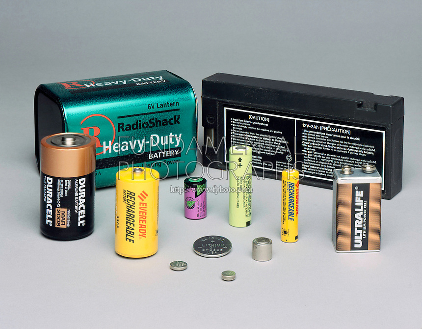 A VARIETY BATTERIES<br />