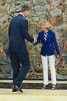 Deputies and Spanish king Felipe VI