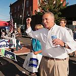New York Senator Charles E Schumer at Bellmore Family Street Fair on  September 18, 2011, in Bellmore, Long Island, New York.