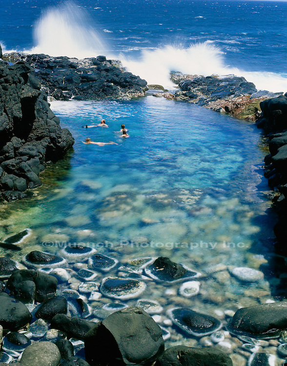 """Queens Bath at Turtle Bay, Kauai   HAWAII"""