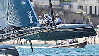 PORTUGAL, Cascais. 7th August 2011. America's Cup World Series. Day 2. ARTEMIS RACING.