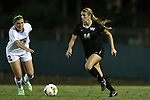 09 October 2014: Wake Forest's Taylor Waters. The University of North Carolina Tar Heels hosted the Wake Forest University Demon Deacons at Fetzer Field in Chapel Hill, NC in a 2014 NCAA Division I Women's Soccer match. UNC won the game 3-0.