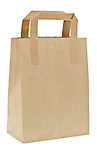 Brown Paper Carrier Bag - Jan 2013.