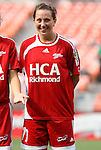 22 June 2008: Richmond's Jessica O'Dwyer. The Washington Freedom defeated the Richmond Kickers Destiny 5-0 at RFK Stadium in Washington, DC in a United Soccer Leagues W-League friendly.