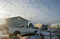 An Attawapiskat home. <br /> <br /> (Ian Stewart photo)