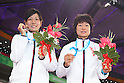 (L to R) Mai Ishibashi (JPN), Hanae Tanaka (JPN), AUGUST 16, 2011 - Athletics : The 26th Summer Universiade 2011 Shenzhen Women's 10000m Final at Main Stadium of Universiade Center, Shenzhen, China. (Photo by YUTAKA/AFLO SPORT) [1040]