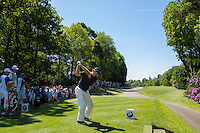 26.05.2012 Wentworth, England. Ernie ELS (RSA) plays a shot whilst competing in the third round of the European Tour BMW PGA Championship played at Wentworth Golf Course Mandatory credit Mitchell Gunn.
