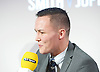 Josh Warrington <br /> Josh Warrington is a British professional boxer from Leeds, England. He is the current WBC International champion, having held the title from April 2015<br /> <br /> Frank Warren Boxing Promoter and BT Sport Press Conference at BT Tower London Great Britain <br /> <br /> 23rd January 2017 <br /> <br /> <br /> <br /> <br /> Photograph by Elliott Franks <br /> Image licensed to Elliott Franks Photography Services