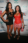 EQ Enterprises' Eunice Quiñones  and Designer Johanna Sarria Backstage at Swim Sunrise Fashion Show Held at New York Aqua Bar & Lounge inside Grace Hotel, NY 7/27/12