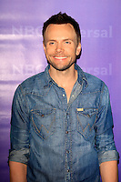 PASADENA - APR 18:  Joel McHale arrives at the NBCUniversal Summer Press Day at The Langham Huntington Hotel on April 18, 2012 in Pasadena, CA