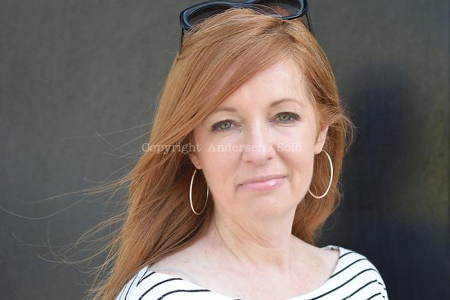 Ellen Urbani, American writer in 2016.